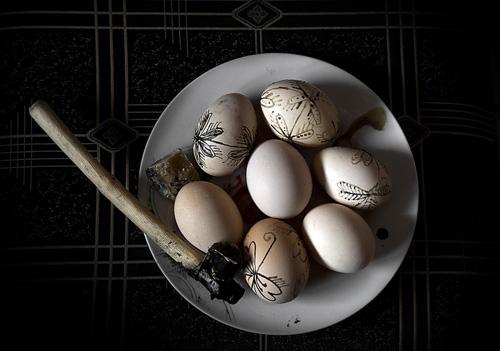 Πάσχα Γρεβενά κόκκινα αυγά Easter Grevena red eggs