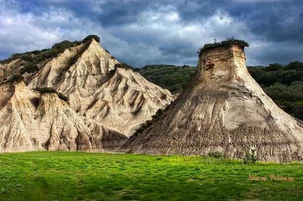 Πυραμίδες Ποταμίδας Κισάμου καρμανωρ